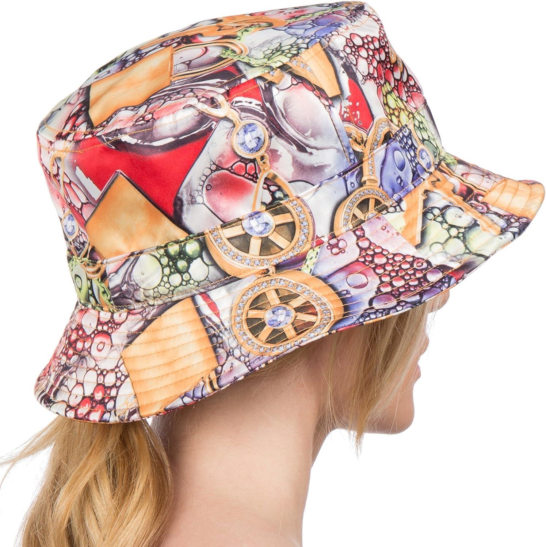 Sakkas Gemma Colorful Design Cloche Bucket Bell Summer Hat