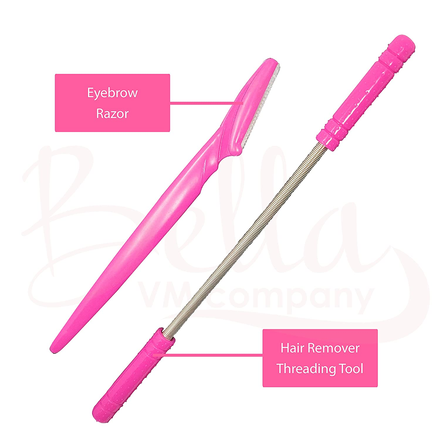 Facial Hair Remover for Women with Bonus Eyebrow Razor  Threading Removal  Tool for Upper Lip, Chin,