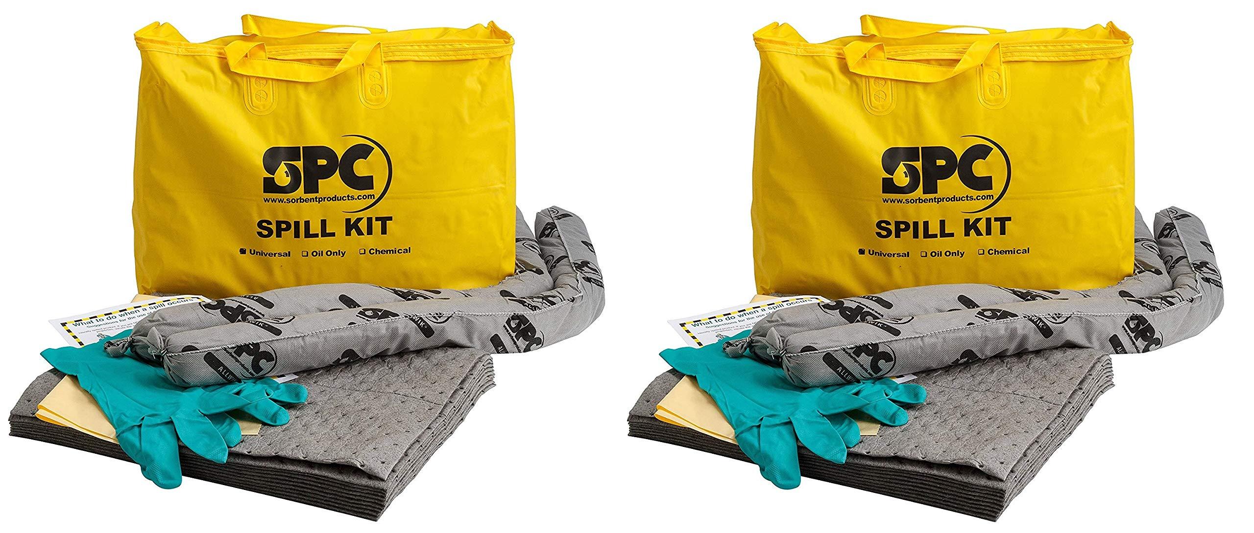 Brady SPC Allwik Universal Economy Portable Spill Kit - 107795 (Pack of 2)