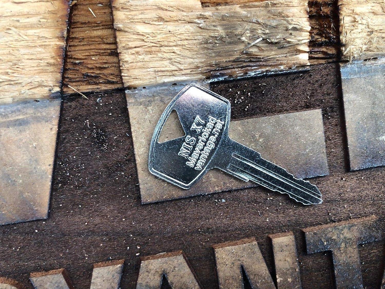 Ignition Keys for Nissan Forklift//HEAVYEQUIP NIS X7 KEY00-000X7 10