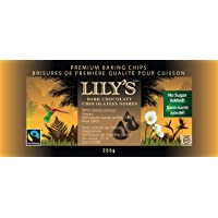 Lily's Sweets Dark Chocolaty Premium Baking Chips, 255g