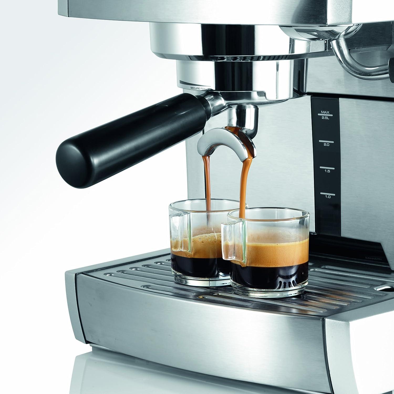 Graef ES85EU Cafetera Espresso, 230 V, 1470 W: Amazon.es: Hogar
