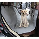 ZQ Waterproof 58 Inch L x 60 Inch W Polyester Bench Seat Cover Pet Hammock Seat Cover for Dogs