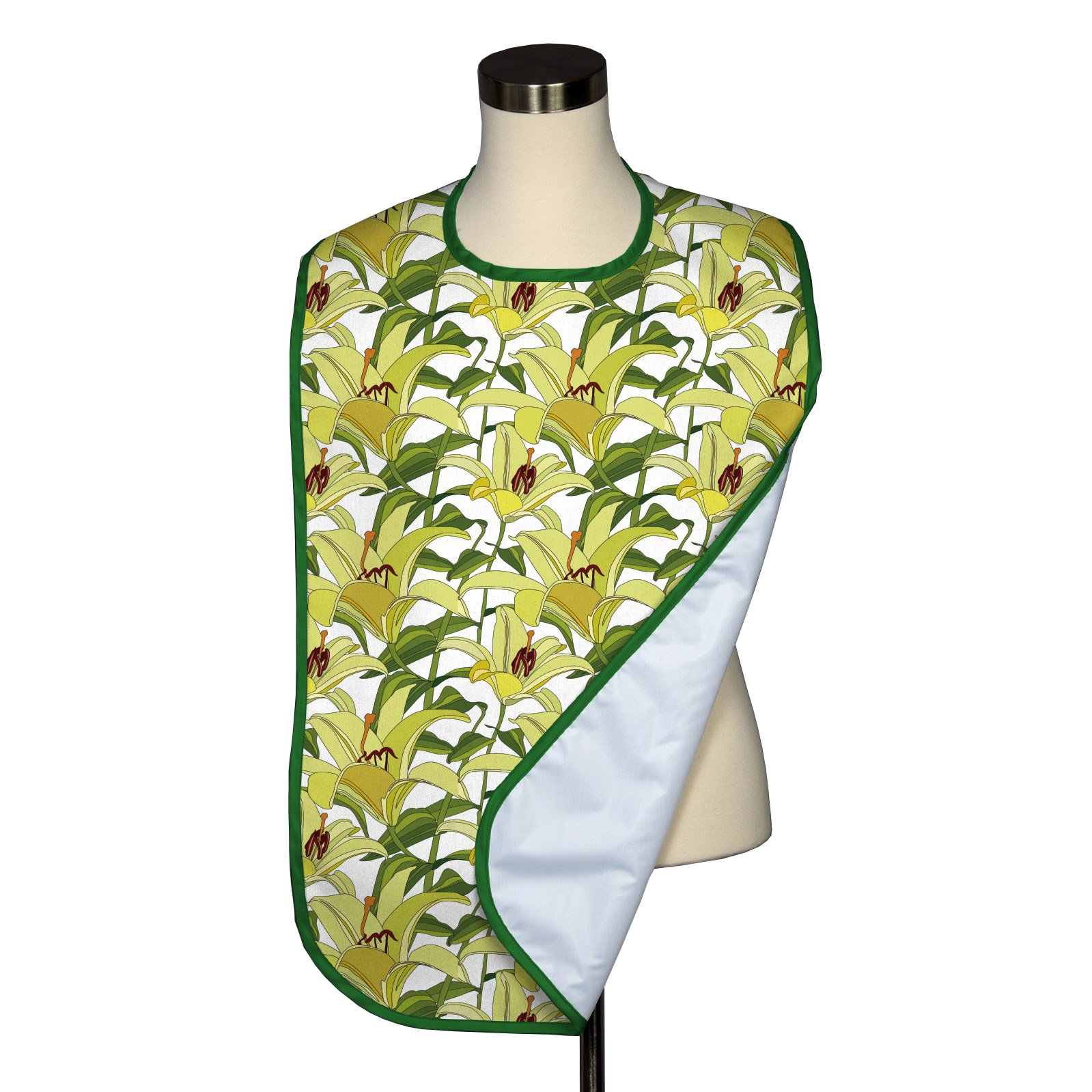 Citrus Tigerlily Adult Bib - Covered with Care - 5 Pack