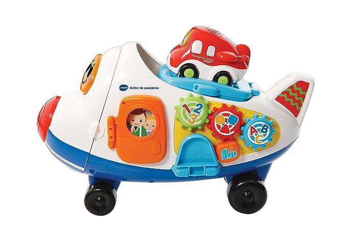 VTech - Avión de Carga con bólido, Tut Tut Bólidos (3480-503122): Amazon.es: Juguetes y juegos