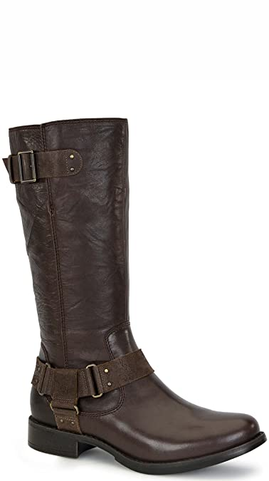 d9cdf92888f UGG Women s Damien Lodge Leather Boot 7.5 B (M)  Amazon.co.uk  Shoes   Bags