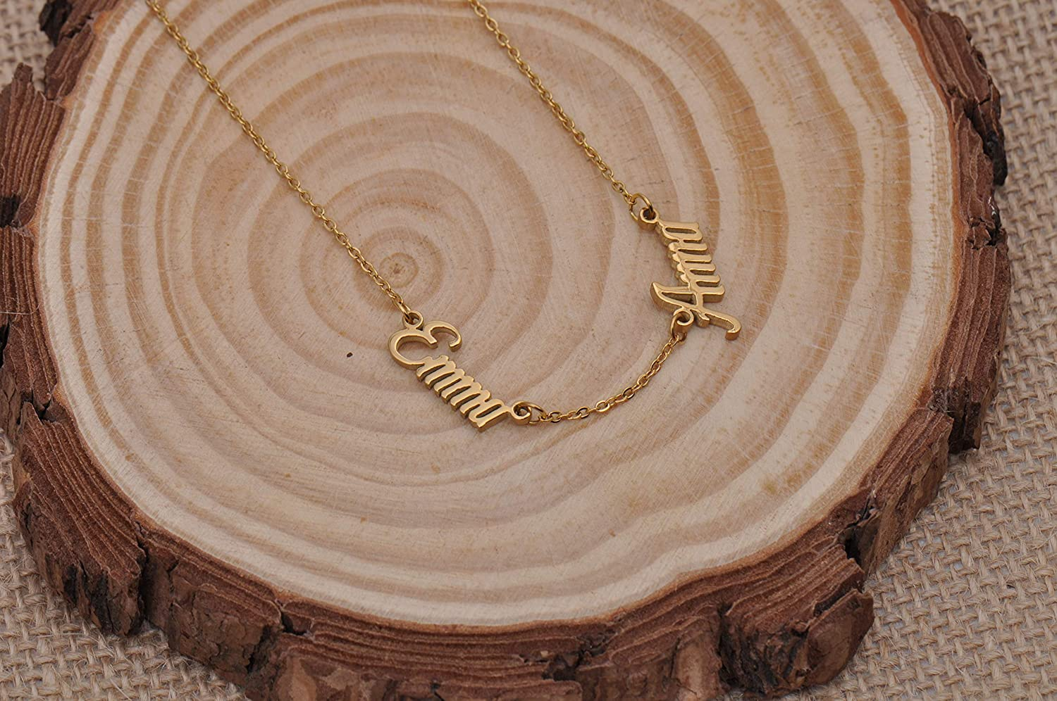Personalized Name Necklace Custom Any Name Necklaces Graduation Gifts