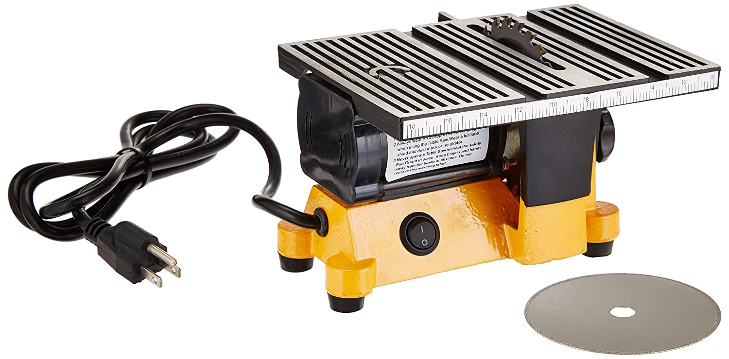 Outdoor Sport 01-0819 Mini Electric Table Saw, 4 in - Power Table ...