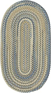 "product image for Capel Tooele Lt. Tan 0' 36"" Round Braided Rug"