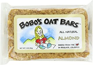 product image for Bobo's Oat Bars Almond Oat Bars, 3-Ounce (Pack of 4)