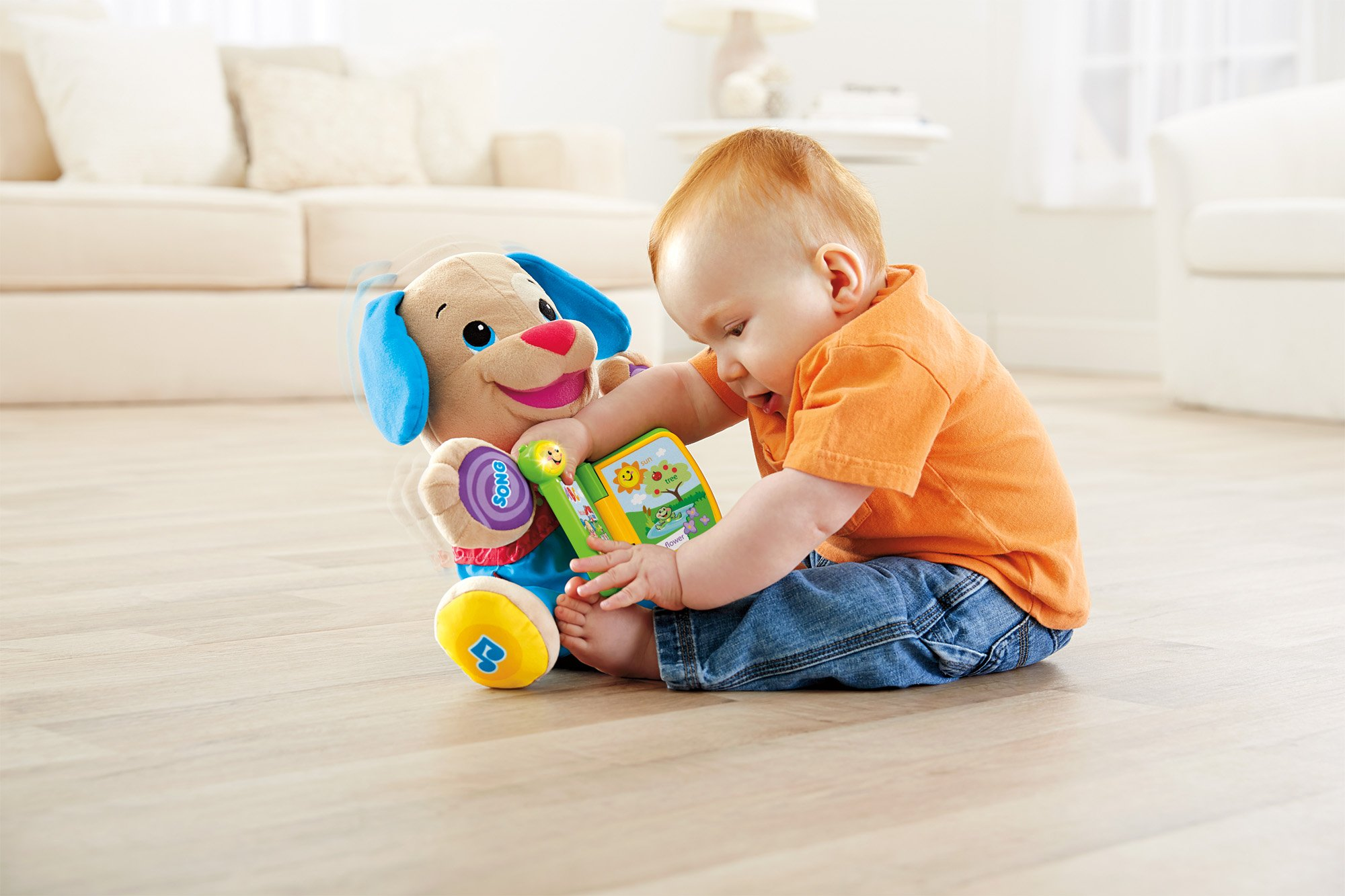 Fisher-Price Laugh & Learn Singin' Storytime Puppy by Fisher-Price (Image #5)