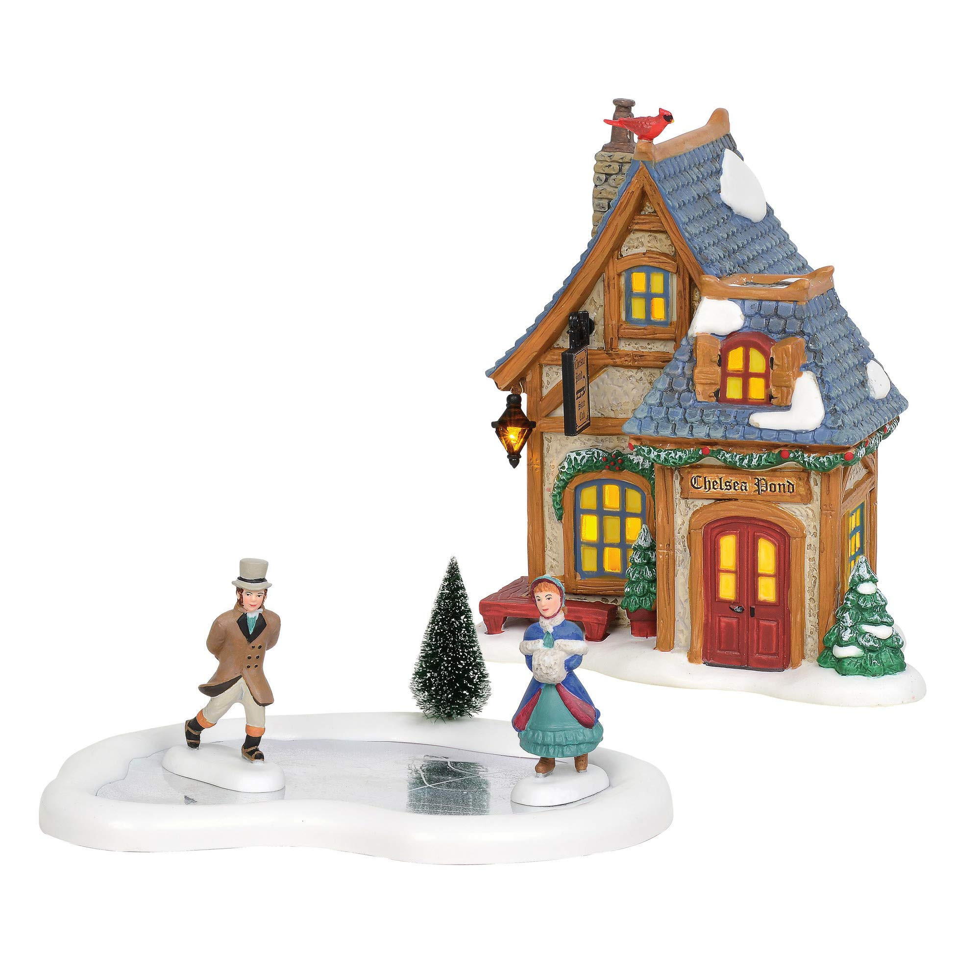 Department 56 Dickens Village Holiday Skating Party - Set by Department 56
