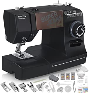 TOYOTA Super Jeans J34 Sewing Machine (Glides Over 12 Layers of Denim) w/