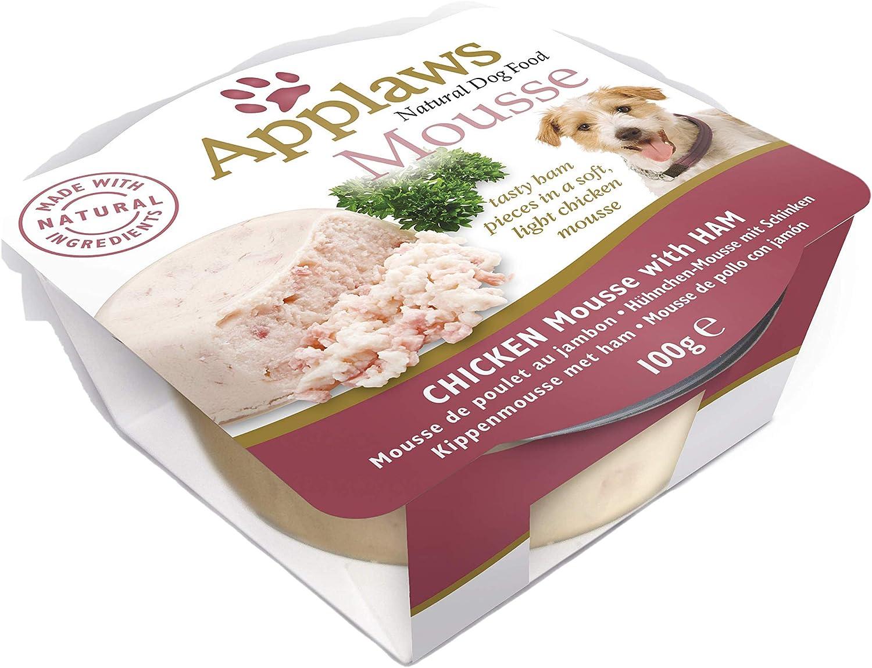 Applaws - Mousse para Perro, 100 g, 6 Unidades