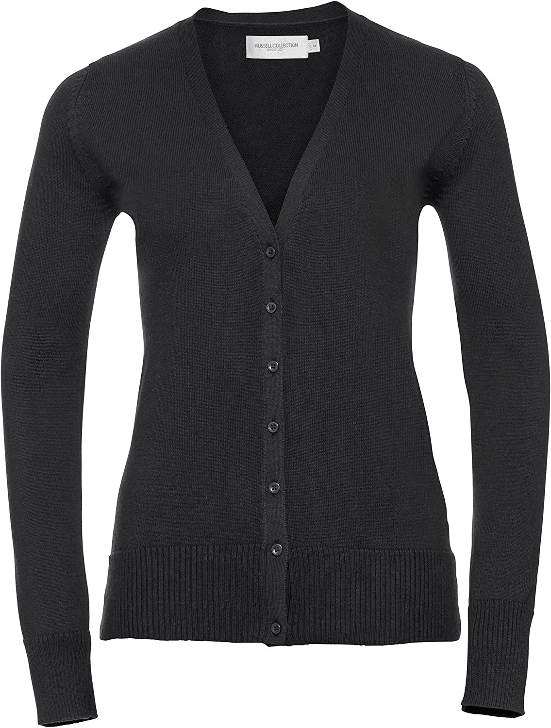 Russell Collection New sales Ladies Womens 3XL Knitted Cardigan Mail order V-neck