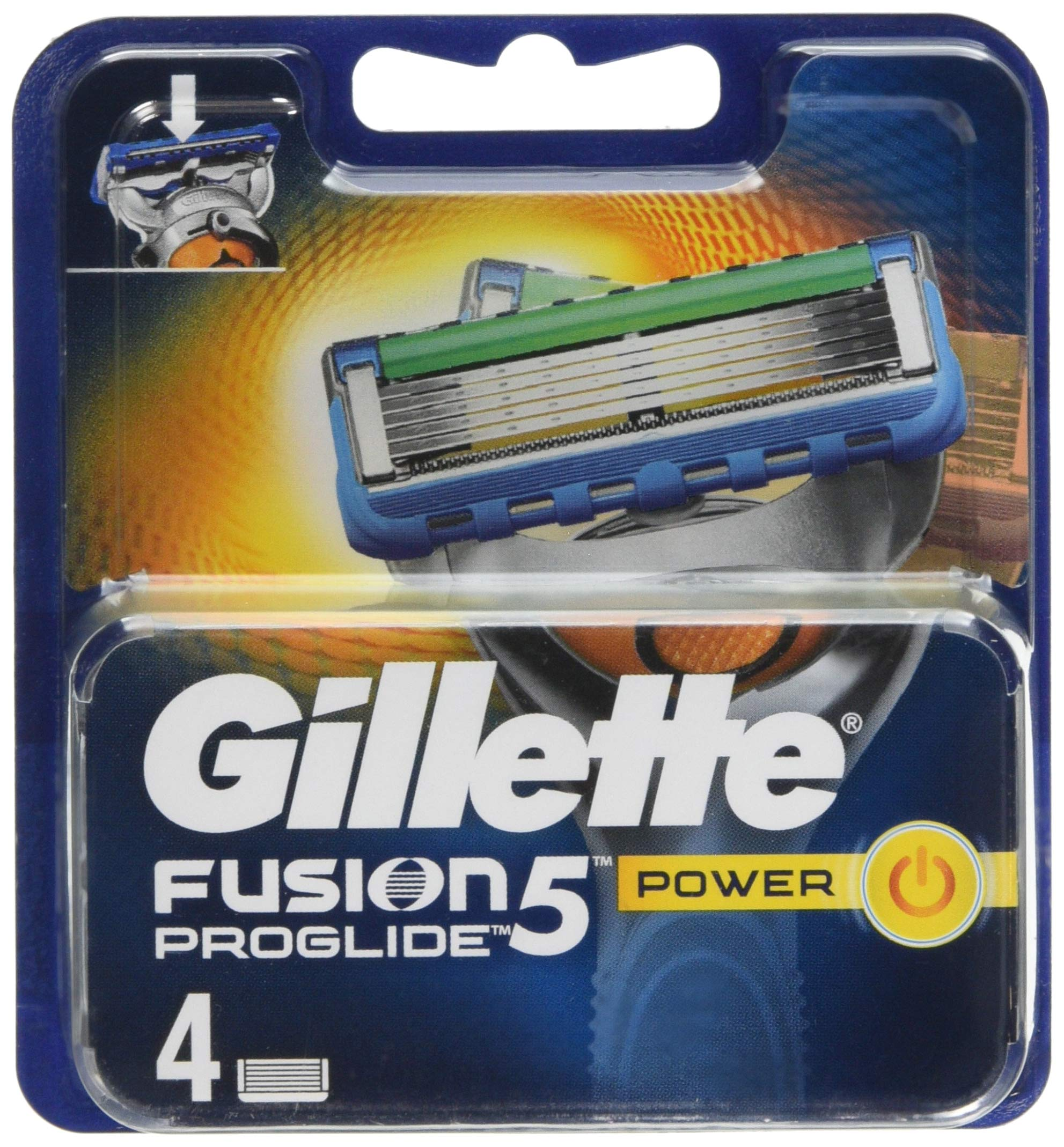 Gillette Fusion5 ProGlide Power Razor Blades for Men, 4 Refills product image