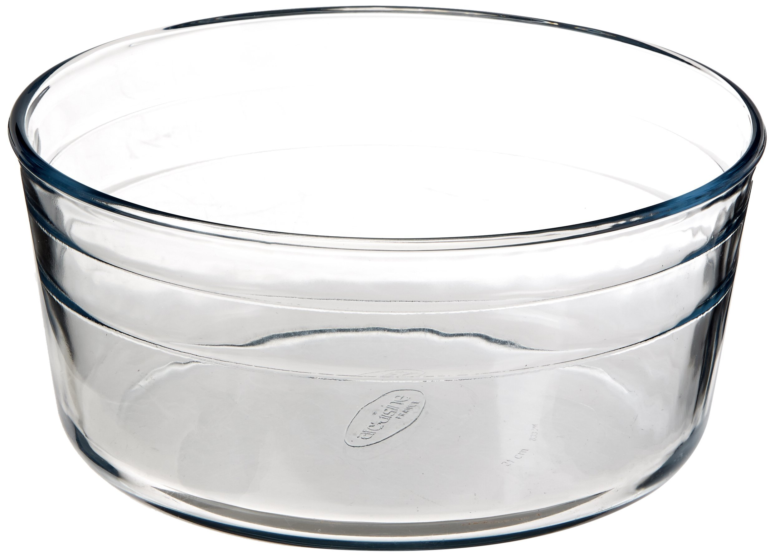 Arcuisine Borosilicate Glass Soufflé Dish 8.5 Inches (21 Centimeters) by International Cookware (Image #1)