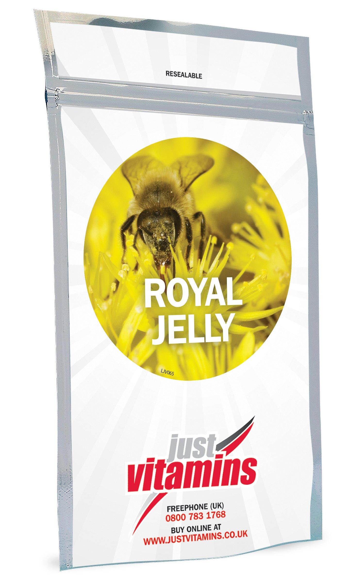 Just Vitamins Royal Jelly 500mg 360 Capsules by Just Vitamins