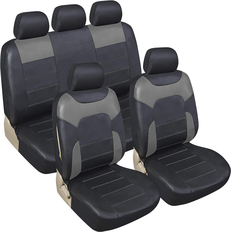 Progettato per adattarsi ai coprisedili in ecopelle 2+1 nero per Volkswagen Transporter T5 T6 dopo il 2004 a sinistra o a destra. 1 singolo 1 doppia