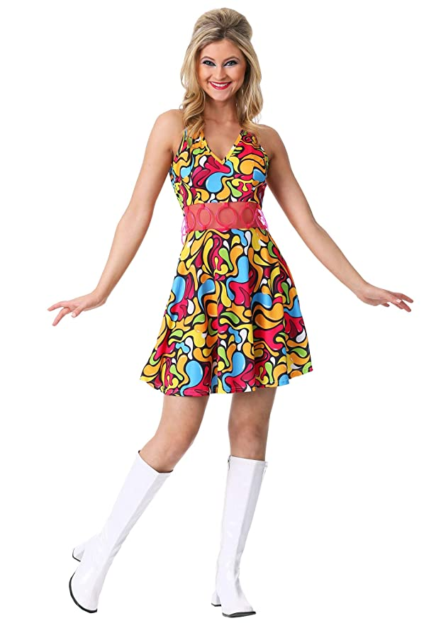 60s Costumes: Hippie, Go Go Dancer, Flower Child, Mod Style Gogo Gal Costume $14.99 AT vintagedancer.com