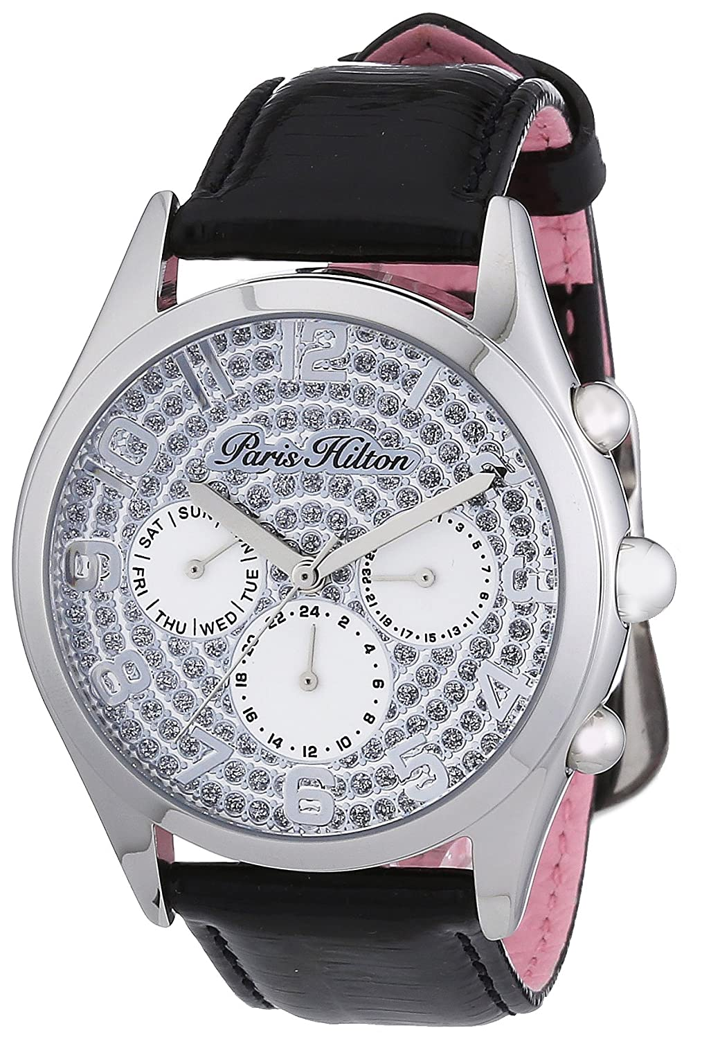 Paris Hilton Damen-Armbanduhr BEVERLY Analog Leder PH13107JS-04A