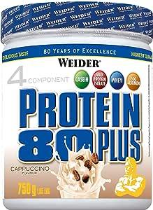 Weider Protein 80 Plus Cappuccino - 750 gr