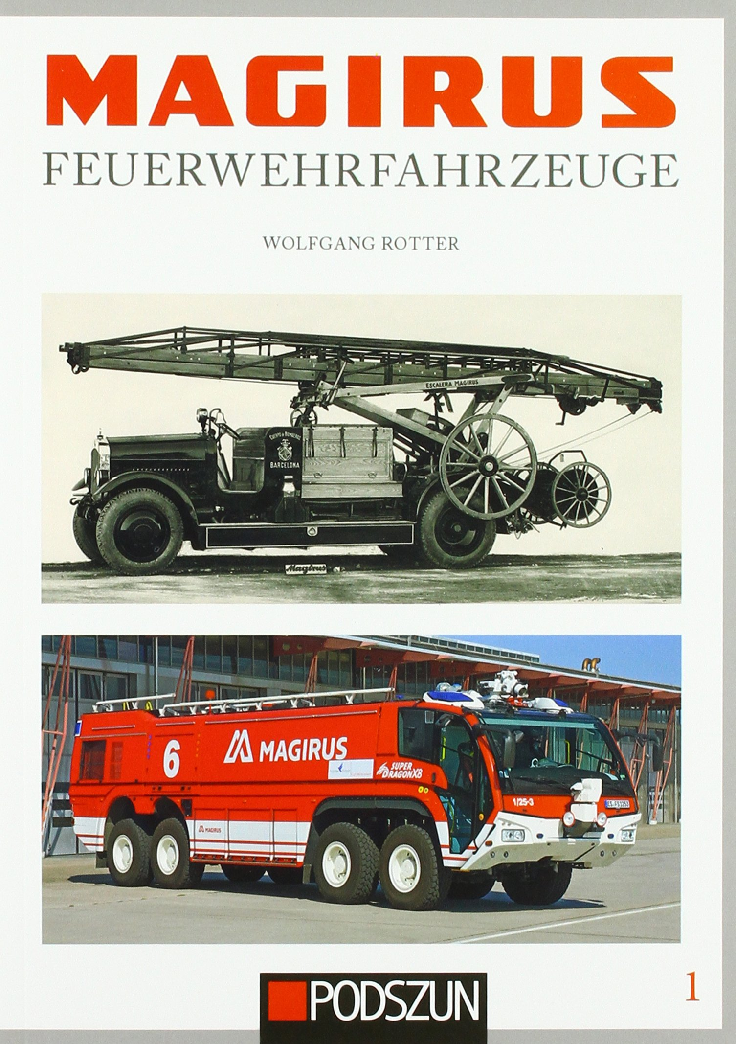 Magirus Feuerwehrfahrzeuge Band 1