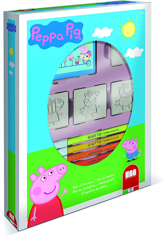 Stempel-Set26-teiligPeppa WutzPeppa PigKreativ SetStempelspaß