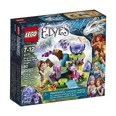 LEGO Elves Emily Jones & the Baby Wind Dragon 41171: Toys & Games