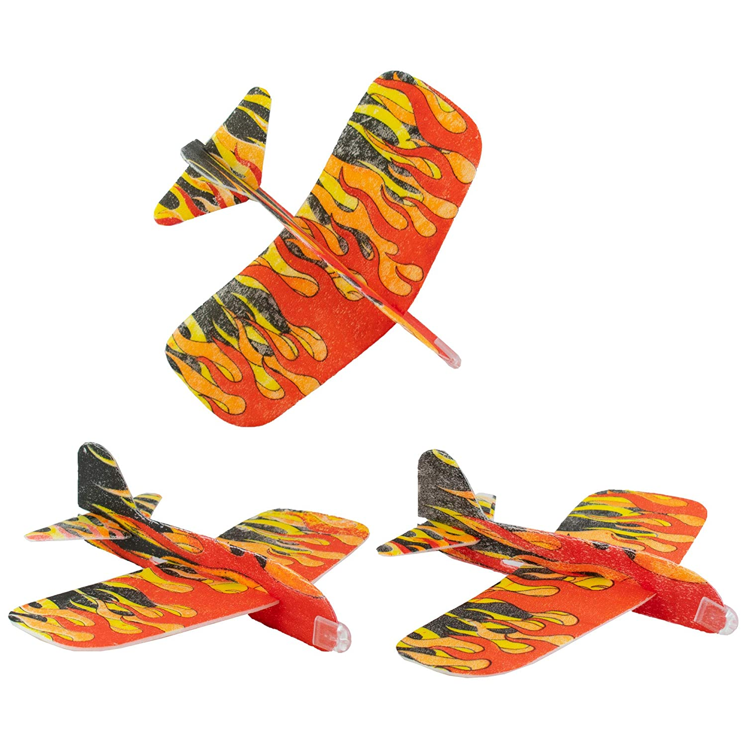 Amazon.com: Giggletime Toy Co. Flames Design Glider - (48 ...