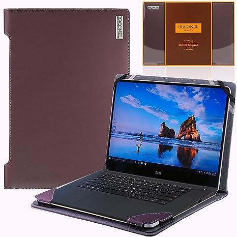Amazon.com: Broonel - Profile Series - Purple Leather Luxury ...