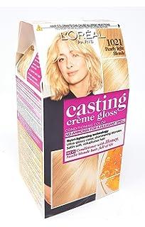 Tintura para cabello marca LORÉAL PARIS CASTING CRÈME GLOSS, sin amoniaco (1021