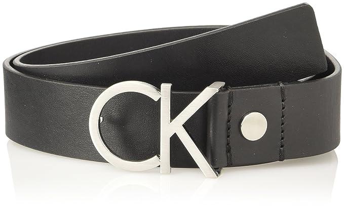 99529cbf703b Calvin Klein Jeans K60K602141, Ceinture Femme, Noir (Black), FR  95 ...