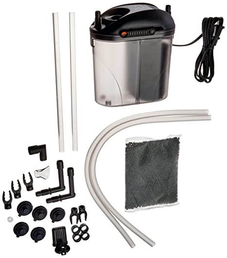 bbeb28a3e112 Amazon.com  Zoo Med Turtle Clean 15 External Canister Filter  ZOO MED  LABORATORIES INC  Pet Supplies