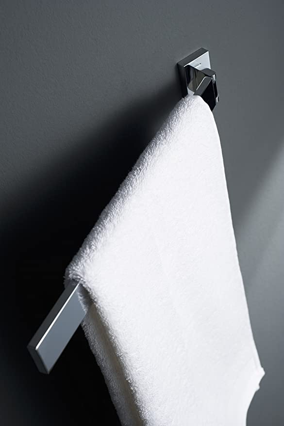 HACEKA Edge Handtuchhalter 1 schwenkbarer Arm verchromt