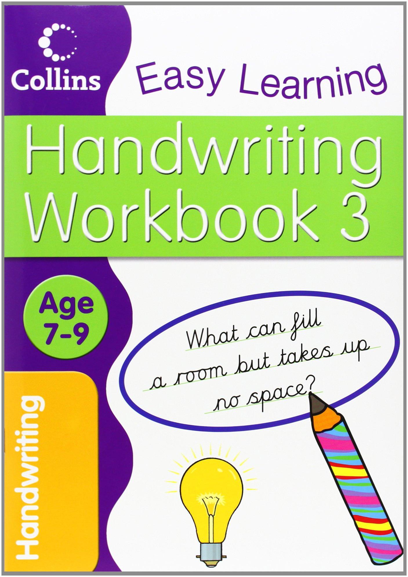 Handwriting Workbook 3 (Collins Easy Learning Age 7-11) pdf epub