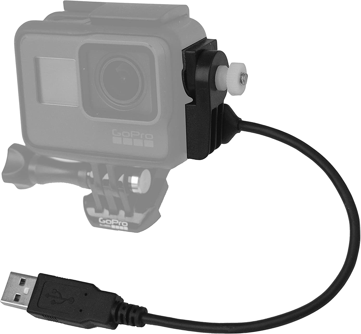 HERO6 with 48 Cable HERO7 Black /& Hero 2018 X~PWR-H5 48 All-Weather External Power Kit for GoPro HERO5