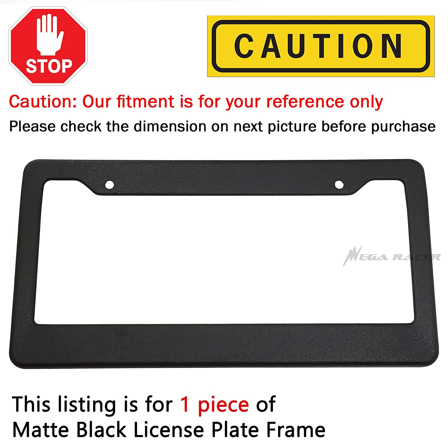 D0zopazkw License Plate Cover Funny License Plate 12 X 6 Anime All Star
