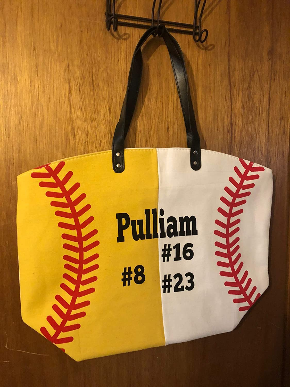 Birthday Gift Bright Orange Canvas Tote Statement Bag Shopping Bag Basketball