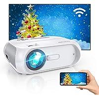 GooBang Doo S5 Full HD 1080p 5000-Lumens LED Portable Projector