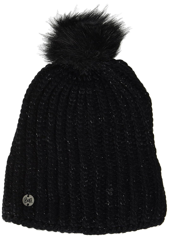 Buff Mujer Knitted y Polar Tiene Glen Gorro