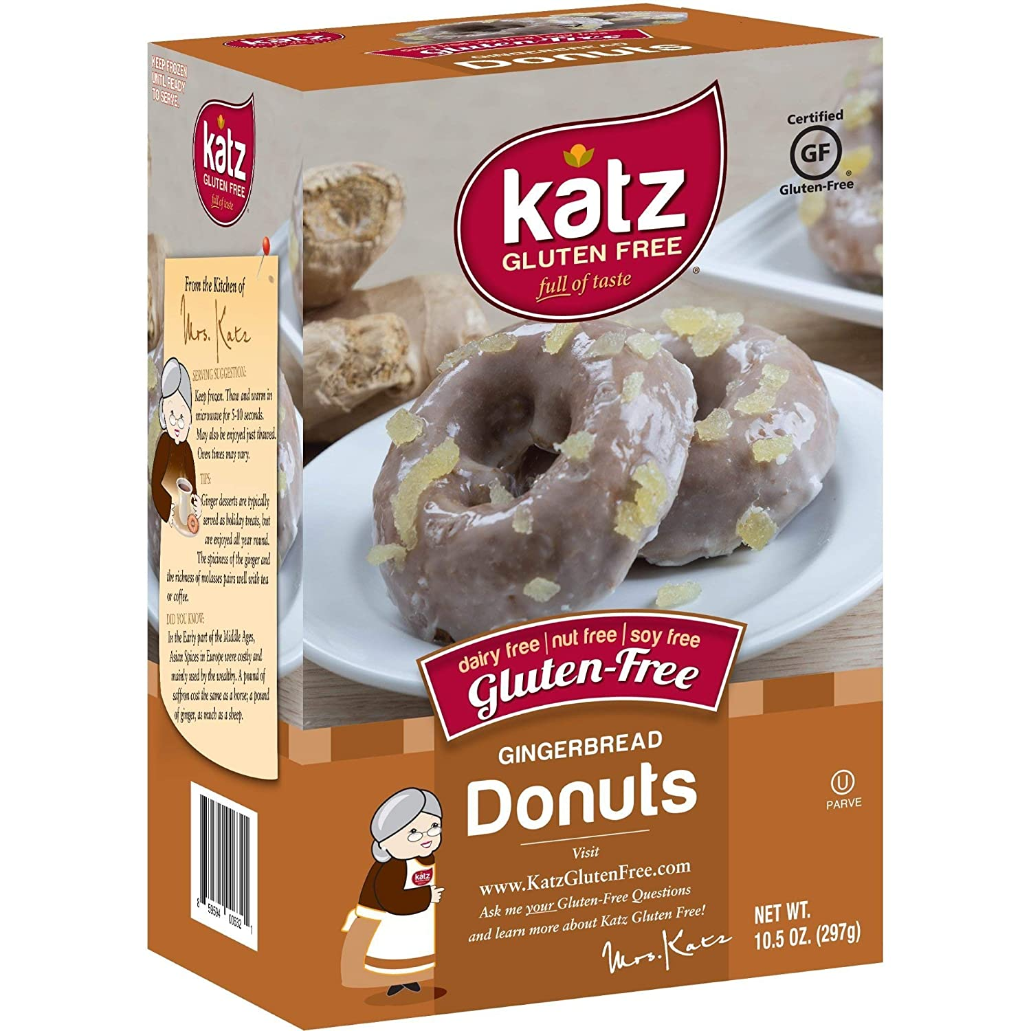 Katz - Donut sin gluten: Amazon.com: Grocery & Gourmet Food