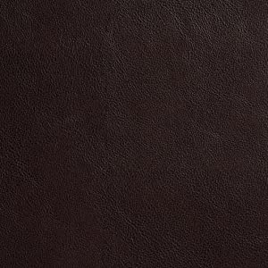 G635 Dark Brown Small Leather Grain Upholstery Grade Recycled Leather (Bonded Leather) by The Yard