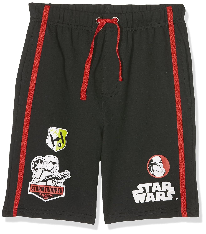 Star Wars-The Clone Wars Darth Vader Jedi Yoda Ragazzi Shorts - nero