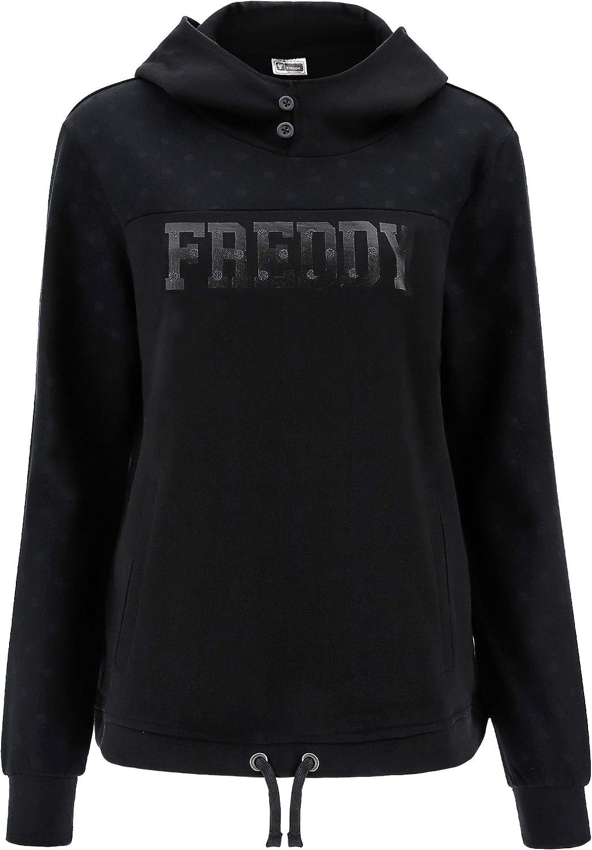 Freddy Sweatshirt F0WTRS5 Schwarze Hoodie Frau Nero