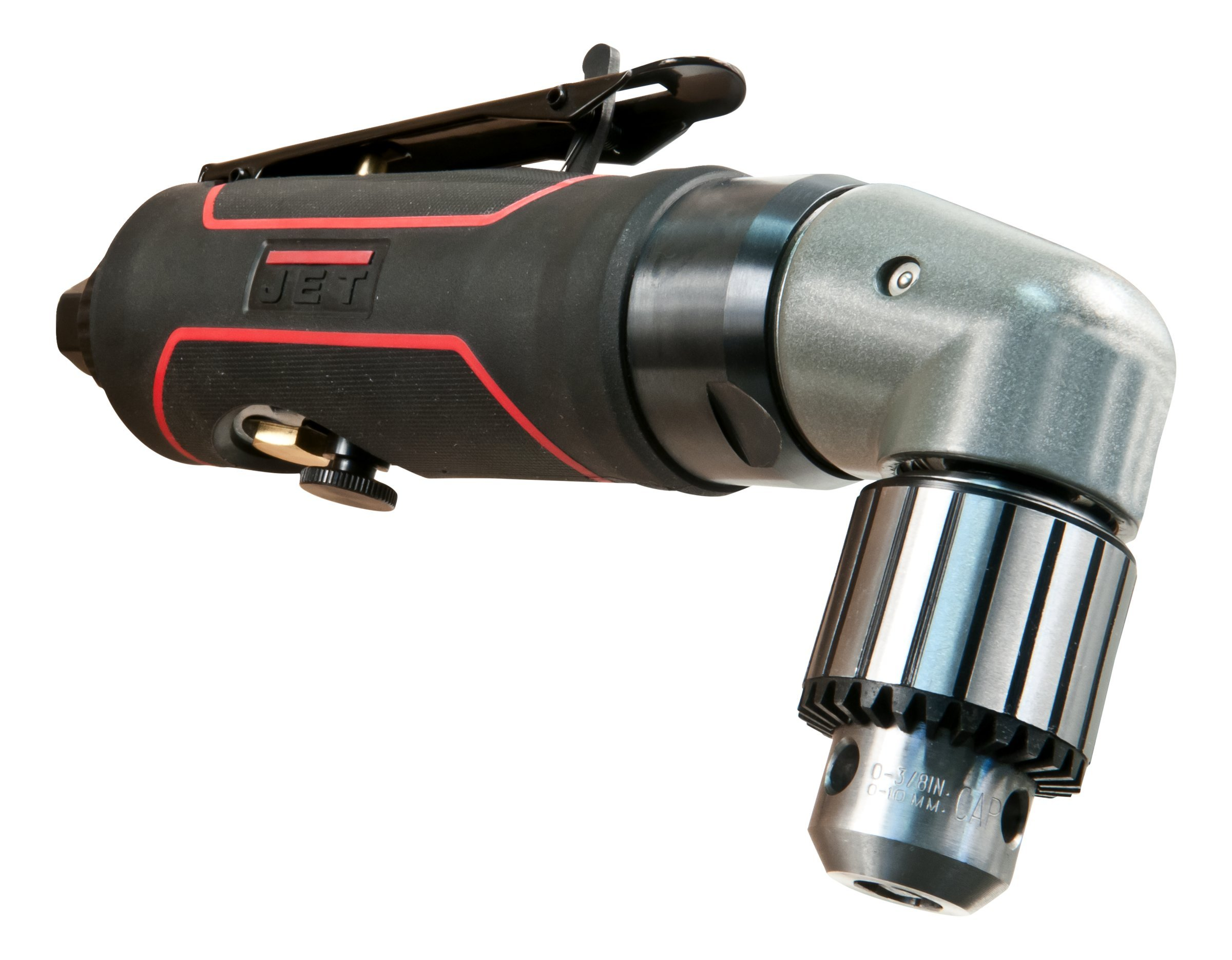 JET JAT-630 Pneumatic R12 Rev Angle Drill, 3/8'' by Jet