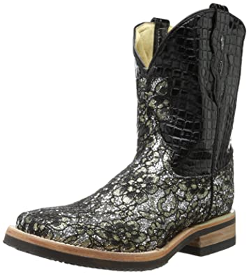 Amazon.com | Ferrini Women's Cowgirl Cool Floral Western Boot ...