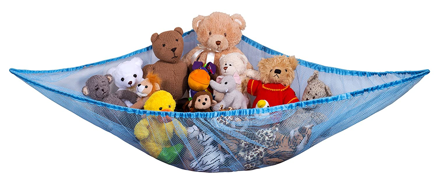 JUMBO Toy Hammock Net Organize Stuffed Animals And Kids Bath Toys