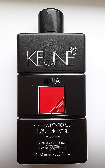 Keune Developer 40 Vol Tinte Crema, Tono 40-1000 ml: Amazon ...