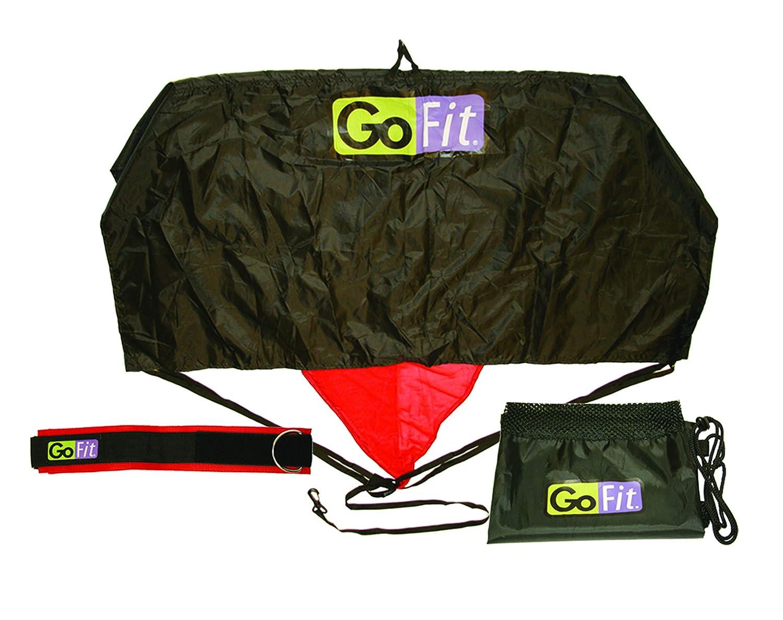 GoFit paracaídas con arnés y Bolsa de Almacenamiento, 25-Pound ...